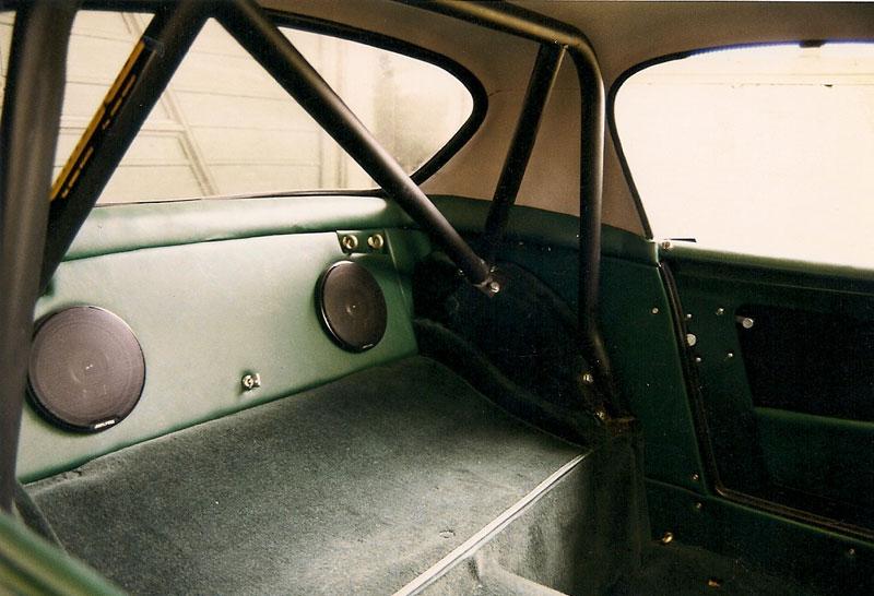 Mg midget steering noise